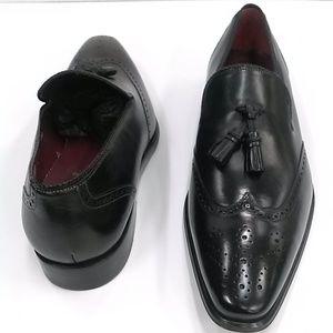Mezlan Black Shoe (Divo II)